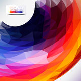 Geometric colorful background Stock Photos
