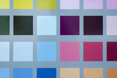 Geometric colorful background with squares.  Royalty Free Stock Photo