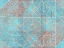 Geometric Colorful Background Vector Royalty Free Stock Image