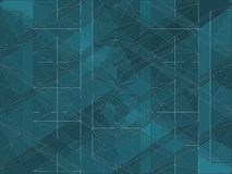 Geometric Colorful Background Vector Royalty Free Stock Images