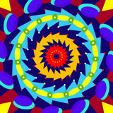 Geometric colorful circle Stock Photos