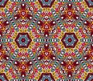 Geometric colorful mosaic seamless pattern Royalty Free Stock Photo