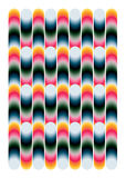 Geometric colorful pattern Stock Photography