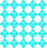 Geometric colorful pattern, design, ornament, heart shaped ornament. Seamless geometric colorful pattern, design, ornament, heart shaped ornament royalty free illustration