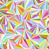 Geometric colorful seamless vector background Royalty Free Stock Images