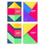 Geometric cover design. A4 format template for brochure,poster,flyer etc. Geometric cover design. A4 format template for brochure,poster,flyer etc vector illustration