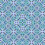 Geometric Cross Shapes Check Pattern Stock Photo