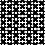Black x cross symbol pattern on white background. stock illustration
