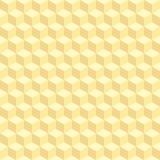 geometric cube seamless pattern.Fashion graphic design.Vector illustration. Background design.Optical illusion 3D Modern stylish a Stock Photos