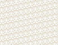 geometric 3d relief outline hexagon grid pattern Stock Illustration