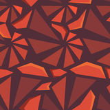 Geometric 3d seamless pattern Stock Photo