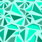 Geometric 3d seamless pattern Stock Photography