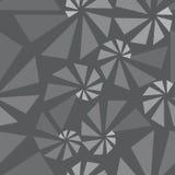 Geometric 3d seamless pattern Royalty Free Stock Photo