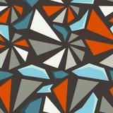 Geometric 3d seamless pattern Royalty Free Stock Photography