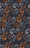 Geometric 3d seamless pattern Royalty Free Stock Images