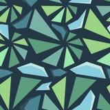 Geometric 3d seamless pattern Stock Images