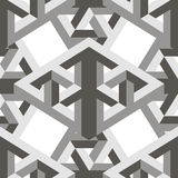 Geometric 3d seamless pattern Royalty Free Stock Photo