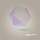Geometric 3d spectrum. Illustration of geometric 3d spectrum Royalty Free Stock Photo