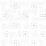 Geometric decoration (vector) Stock Photography