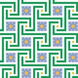 Geometric decoration (vector) Stock Photos