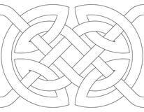 Geometric decoration (vector) Royalty Free Stock Photos