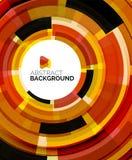 Geometric design circles, swirl Royalty Free Stock Photos