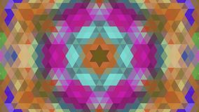 Geometric design, Mosaic of a vector kaleidoscope vector illustration