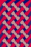 Geometric Design Pattern Interlaced Stock Photo