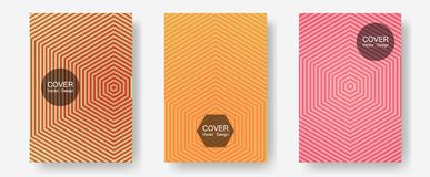 Geometric design templates for banners, covers. stock illustration