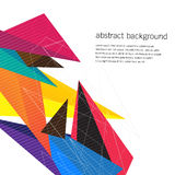Geometric design vector backgrounds Royalty Free Stock Photo