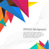 Geometric design vector backgrounds Royalty Free Stock Images