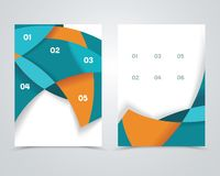Geometric design vector business banners Stock Photos