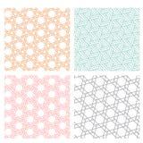 Geometric diagonal line seamless pattern Royalty Free Stock Photos