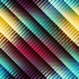 Geometric diagonal pattern with strikes Stock Photo
