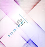 Geometric diamond shape abstract background Stock Image