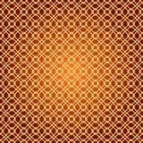 Geometric diamond shape seamless pattern, vector Royalty Free Stock Photography