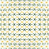 Geometric diamond shape seamless pattern, vector Royalty Free Stock Photography