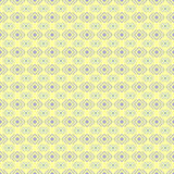 Geometric diamond shape seamless pattern. Stock Photography