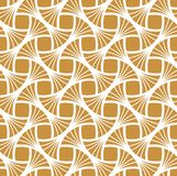 Classic Golden Art Deco Seamless Pattern. Geometric Stylish Texture. Abstract Retro Vector Texture. vector illustration