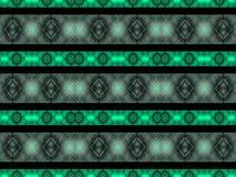 Geometric Diamonds Motif Pattern Royalty Free Stock Images