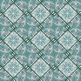 Geometric Diamonds Motif Pattern Royalty Free Stock Photography