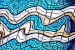 Geometric distorted background. Royalty Free Stock Photos
