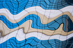 Geometric distorted background. Royalty Free Stock Photo