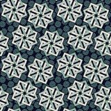 Geometric ditsy pattern Royalty Free Stock Image