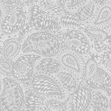 Geometric doodle seamless wallpaper pattern. Stock Images
