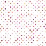 Geometric dot pattern background - vector graphic. Design royalty free illustration