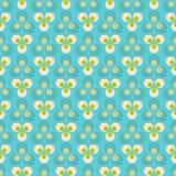 Geometric dots pattern Royalty Free Stock Image