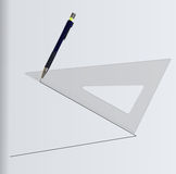 Geometric draw Royalty Free Stock Photo
