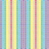 Geometric dynamic rainbow background. Colorful rainbow pattern. Royalty Free Stock Photo
