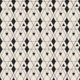 Geometric elegant seamless pattern background Royalty Free Stock Photos